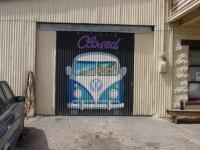 Closed repair shop