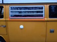 Jalousie window sill