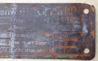 ID Plate 1947
