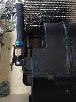 Rear heater shut off valve
