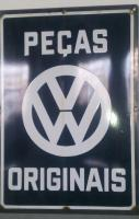 Brazilian VW Volkswagen Porcelain Signs