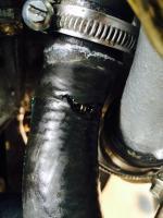 Syncro coolant hose failure and temporary fix