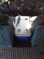 Alternate center seat box