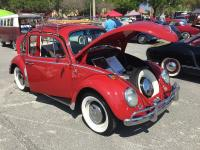 Red '66 at Lakeland VW Classic 2015