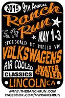 2015 VW Ranch Run sponsored by Niello Volkswagen