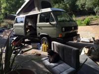 Van interior work