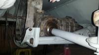 swingaxle axle tube frame horn clearance