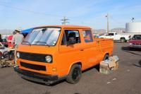 Orange Vanagon Truck