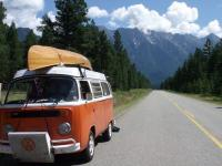 My Westfalia with Canoee