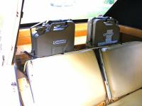 Photos of Jerrycan install, behind Thing rear seats