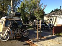 Vanagon with Moto Jack Rack