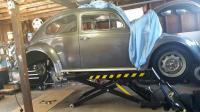1962 Bug on lift