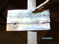 Flux-core sheet metal welding : 22 gauge butt seam
