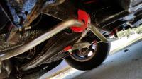 rear sway bar install