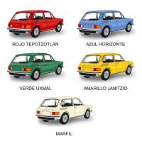 Original colors - 1975 Mexican VW Brasilia