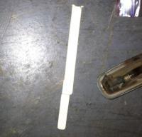 Steering column wire cover