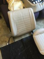 Seat heater back