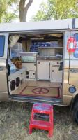Westfalia Vanagon Interior at The Ranch Run 2015
