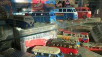 Case of Transporter Toys at Niello Volkswagen