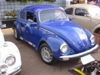 Blue customized Beetle