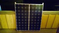 My flexible solar panel setup