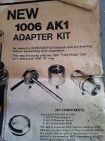Time pirate adapter kit
