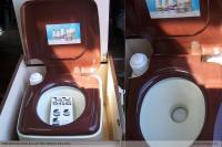 Westfalia storage toilet potty box