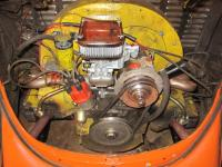 Engine with new Weber Carb