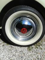"Slotted 15"" beauty ring on my 1960 Karmann convertible"