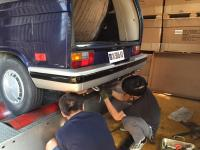 VW T3 Power Exhaust system, From Elbow to Tail pipe. Quiet like original, plus more power.