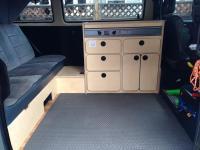 custom kitchen cabinet/ galley