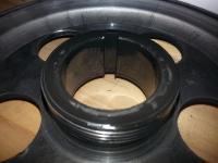 Aluminum Crank Pulley Fretting