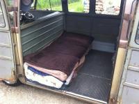 Camping interior....