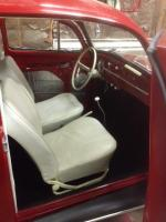 Carcrazed 1961 beetle interior and engine May 2015