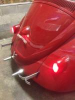 carcrazed 1961 restoration rear of car