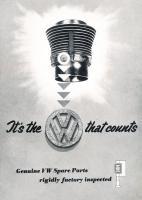 VW Parts ad
