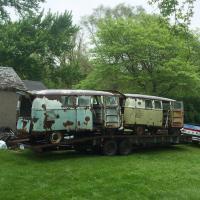 Rusty buses