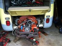 installing IDF equiped engine into 69 Westy