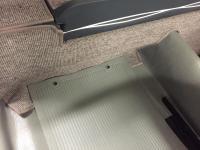 Back seat floor aspect