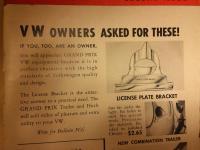 License Plate Bracket