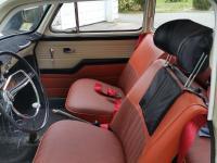 Low back seat accessory headrest