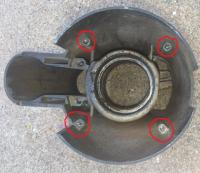 Steering column / signal / Ignition housing
