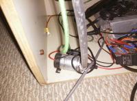 under sink wires