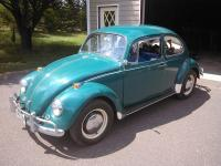 A green 1967 Beetle named Scottie