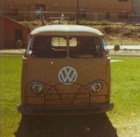 Barndoor bus muzzle