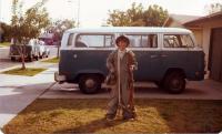 VWs at parent's house circa 1979