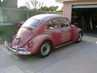 Original paint Ruby Red '66 Beetle