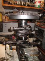 engine case, crankshaft