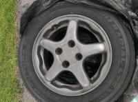 Honda Wheel Repair (Dry Sanding)