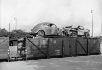 KdF Beetle and Schwimmwagen